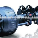 loader differential American or German type trailer axles