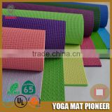 183*61*0.6cm Hot Sale Fitness Pilate sports & entertainment company logo mat price reasonable