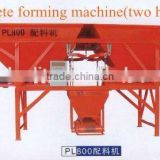 PL800 Batcher for Concrete Block Making Line Concrete batching device