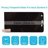 Privacy Tempered Glass Screen Protector Protective Film For Asus Zenfone 5 Mobile Phones