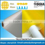 white Dpp 100% monofilament polyester t-shirt/textile silk screen printing mesh