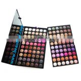 High quality colorful Makeup palette popular shine and matte wholesale makeup naked 120 eye shadow palette