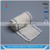 YD-3003 Hot Factory High Quality Cotton Spandex Elastic Crepe Bandages With Blue With ISO&FDALines