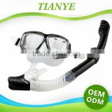 Factory Wholesale OEM Cheap Diving Equipment,Diving Mask and Wave Snorkel Set                                                                         Quality Choice