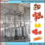 High-quality fruit and vegetable juice processing line in machinery for pineapple&carrot