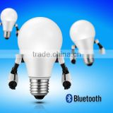 ce rohs ul smart ac led bulb 8w & cell phone controlled smart led light bulb & rgbw dimmable led bulb by android control
