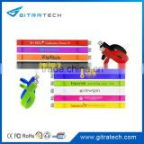 Free Sample Promotion 1 Dollar USB Flash Drive Bracelet USB Wristband USB Flash Memory Stick                                                                         Quality Choice