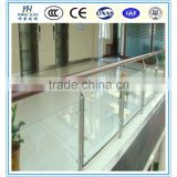 12mm tempered glass swimming pool/glass pool fence