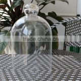 Handblown Bell jar Turkey glass dome clear transparent leadfree customized size manufacture high quality