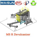 HOT SALE Energy-saving rubber devulcanized machine for waste tyre/used tires recycling production line