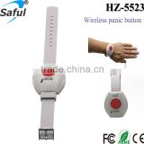 315Mhz/433Mhz wireless gsm wrist-mounted panic button