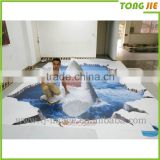 Women Animal Sex Photo Wood Floor Sticker Printing