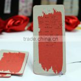Gold stamped jewelry tags, printed clothing hangtags, garment paper hang tags OEM in China