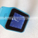 Touch screen wrist bluetooth watch with GPS+alarm clock+hands free fuction WT-53