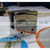 flat bottom stainless steel square glass clamp for holding laminated panels
