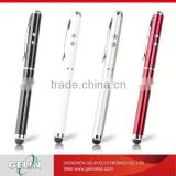3 in 1 laser pointer led light ball capacitive touch screen ball point stylus pen for ipad