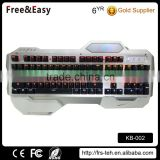 Brand New high quality mechanical soccer typing games keyboard for kids