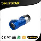 Onlystar GS-9010S-2 aluminum rechargeable 0.5W highlight head rotate car cigarette lighter flashlight led car torch
