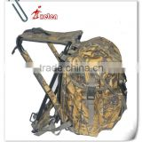 Outdoor Waterproof Camo Fishing/Hunting Backpack & Stool