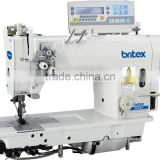 BR-8422D Electronic High-speed Double Needle Lockstitch Sewing Machine With Direct Drive ( brother type)