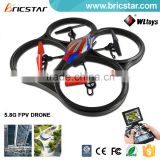 WL newest toys 5.8G RC headless mode quadcopter storm rc hobby china with real time video transmission                                                                         Quality Choice