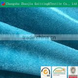 Wholesale blue shiny suit fabric manufacture panne velvet fabric