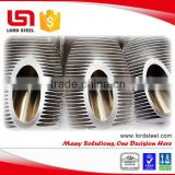 Aluminum / Copper Extruded Finned Tube in Automotive Engineering as the part of Heat Exchangers