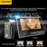 High quality color video door phone sip video door phone wireless KDB700
