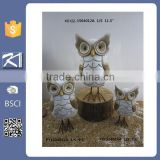 Art craft ceramic owl sculpture for garden ornament                                                                         Quality Choice