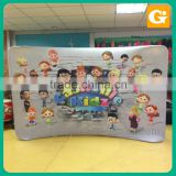 Floor Stand Pop Up Counter Designs Car Showroom Display Stand