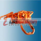 High strength transport lifting heavy duty lifting slings polyester rounding sling for sale