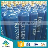 140mm / 219mm OD High Pressure Oxygen Gas Cylinder For Medical 10L ~ 40L CNG Cylinder Capacity