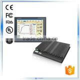 19 inch Atom N2600 dual-core 1.6GHz 2G RAM lcd touch screen for embedded windows linux system