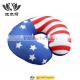 Unique usa flag micro beads travel Neck Pillow