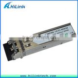 Dual Fiber LC Compatible Optics Cisco Switches 1270nm~1610nm 1.25G 80km CWDM SFP