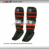 GX9408 Top Model Muay Thai Shin Pads Pro Genuine Leather&Artificial Leather Shin Guards