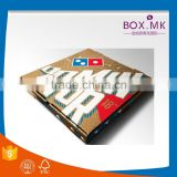 Boutique Top Quality New Arrival Creative Environment Colorful Square 8/9/14/ Inch Pizza Delivery Box