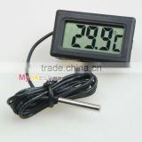 Digital LCD Probe Fridge Freezer Thermometer Thermograph for Refrigerator 110C