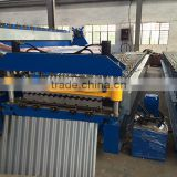 Corrugated Roofing Sheet Roll Forming Machine , Roofing Sheet Making Machine , Metal Steel Roof Tile Sheet Making Machine Price