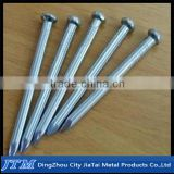 (17 years factory)Cheap Steel twisted concrete nails/Galvanized spiral concrete nails manufacturer/hardened steel concrete nails