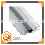 PVC glass shower door seal strip weather stip rubber sealing strip ,Water proof,U shape magnetic water proof