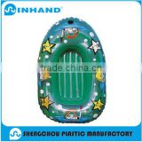 2016Factory production EN71-1-2-3 Eco-friendly Blue PVC Inflatable Water Boat