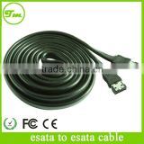 6' ESATA 7 PIN HOT SWAPPING CABLE EXTERNAL HARD DRIVE ENCLOSURE SERIAL ATA CORD