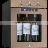 SICAO newest liquor dispenser for wine bar home using can hold 9 bottles