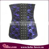 latext open sexy woman photo corset slimming underwear sexy mature corset cheap floral purple corset 2015