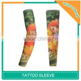 Cartoon Design Temporary Arm Tattoo Sleeves For Kids