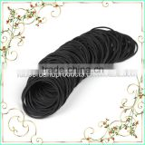Mini Black Color Latex EPDM Double Rubber Band Wholesale, Cheap Hair Elastic Rubber Band Manufacturer