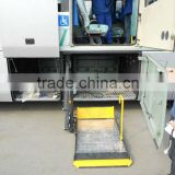 Chinese CE Product WL-T-1000G Rotating Series Wheelchair Lift on Tourist Bus Coach for Disabled