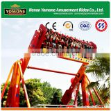 Theme park equipment of thrill adults games top spin rides amusement for sale