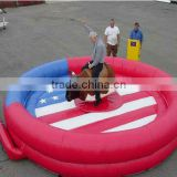 Hot sale Inflatable mechanical bull/bull rodeo